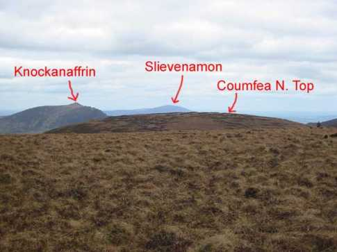 MountainViews.ie Picture about mountain Coumfea in area Comeragh Mountains, Ireland