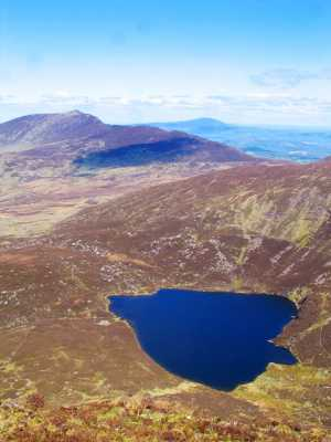 MountainViews.ie Picture about mountain Coumfea North Top in area Comeragh Mountains, Ireland