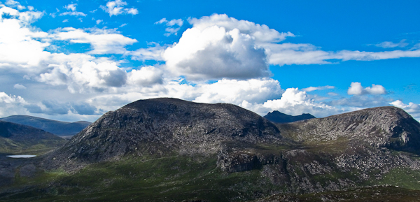 MountainViews.ie Picture about mountain Slievelamagan in area Mourne Mountains, Ireland