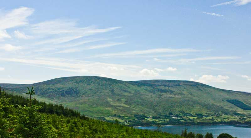 MountainViews.ie Picture about mountain Moanbane in area Dublin/Wicklow, Ireland