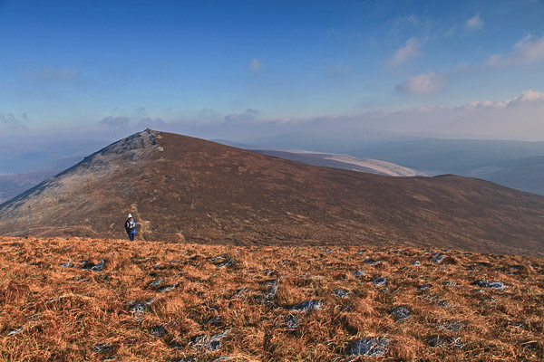 MountainViews.ie Picture about mountain The Paps East in area Paps/Derrynasaggart, Ireland
