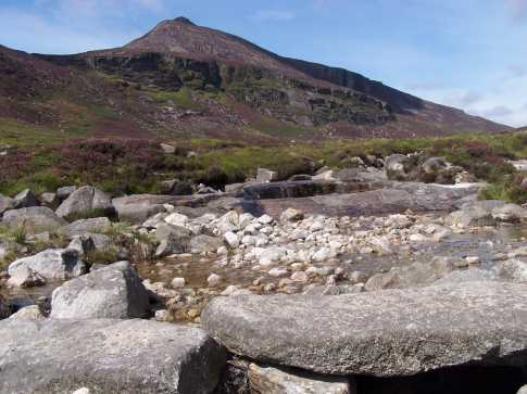 MountainViews.ie Picture about mountain Slieve Binnian North Tor in area Mourne Mountains, Ireland