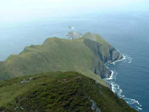 MountainViews.ie Picture about mountain Croaghaun SW Top in area Achill/Corraun, Ireland