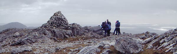 MountainViews.ie Picture about mountain An Chailleach in area Twelve Bens, Ireland