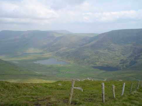 MountainViews.ie Picture about mountain Beennabrack in area Brandon Group, Ireland