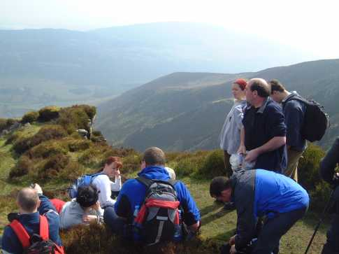 MountainViews.ie Picture about mountain Luggala in area Dublin/Wicklow, County Wicklow, Ireland
