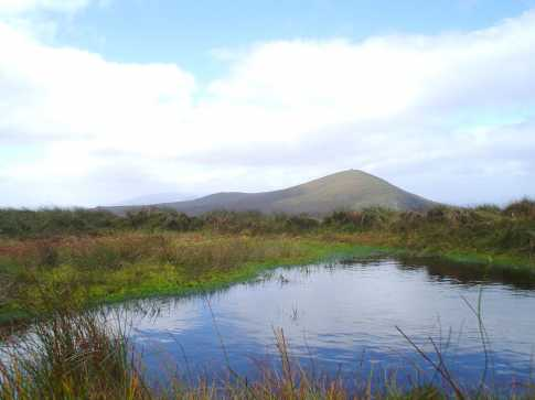 MountainViews.ie Picture about mountain Knocknabro West Top in area Paps/Derrynasaggart, Ireland