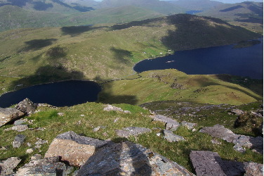 MountainViews.ie Picture about mountain Benchoona in area Twelve Bens, Ireland