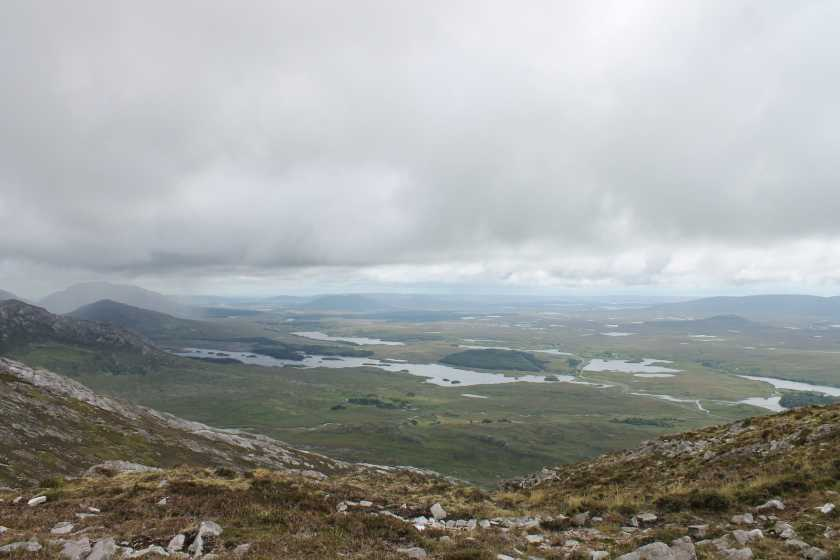 MountainViews.ie Picture about mountain Benlettery in area Twelve Bens, Ireland