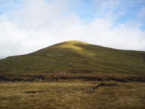 MountainViews.ie Picture about mountain Birreencorragh South Top in area North Mayo, Ireland