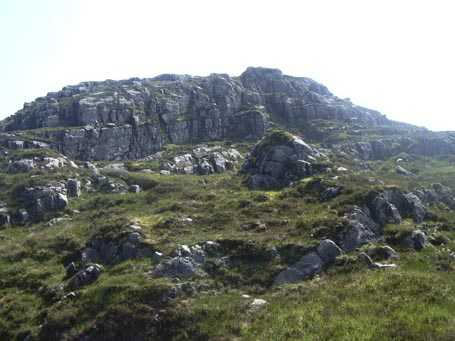 MountainViews.ie Picture about mountain Peakeen Mountain in area Mangerton, Ireland