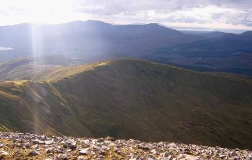 MountainViews.ie Picture about mountain Birreencorragh West Top in area North Mayo, County Mayo, Ireland