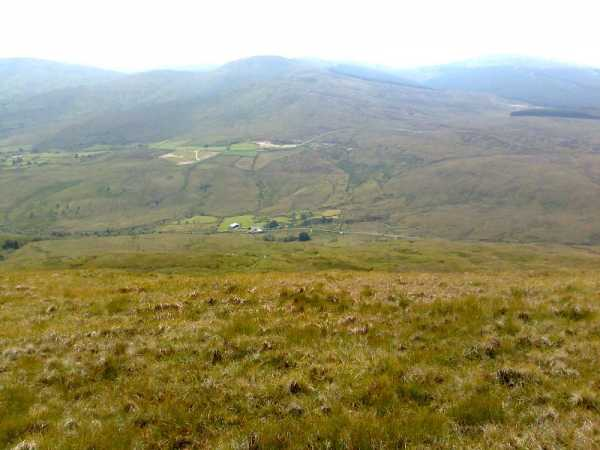 MountainViews.ie Picture about mountain Mullaghmore in area Sperrin Mountains, Ireland