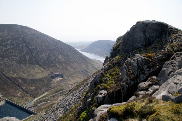 MountainViews.ie Picture about mountain Ben Crom in area Mourne Mountains, Ireland