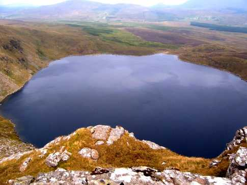 MountainViews.ie Picture about mountain Tawny Rower in area Sheeffry Hills, Ireland