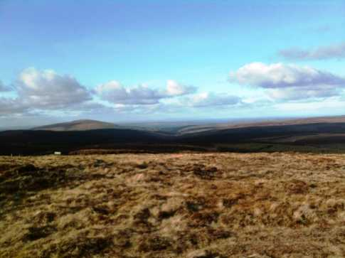 MountainViews.ie Picture about mountain Slieveanorra in area Antrim Hills, Ireland