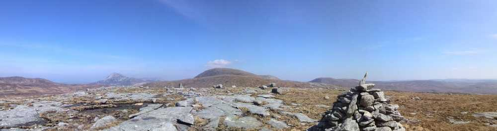 MountainViews.ie Picture about mountain Cnoc na Searrach in area Donegal NW, Ireland