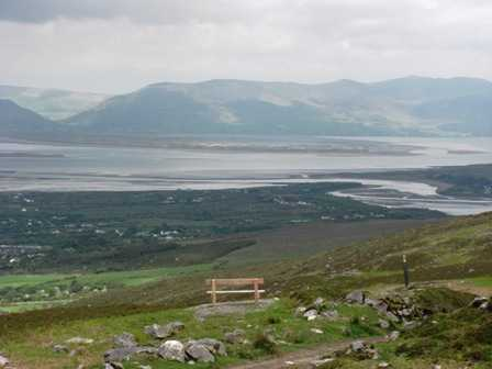 MountainViews.ie Picture about mountain Seefin in area Glenbeigh Horseshoe, Ireland