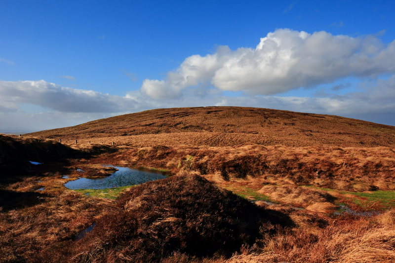 MountainViews.ie Picture about mountain Learmount Mountain in area Sperrin Mountains, Ireland
