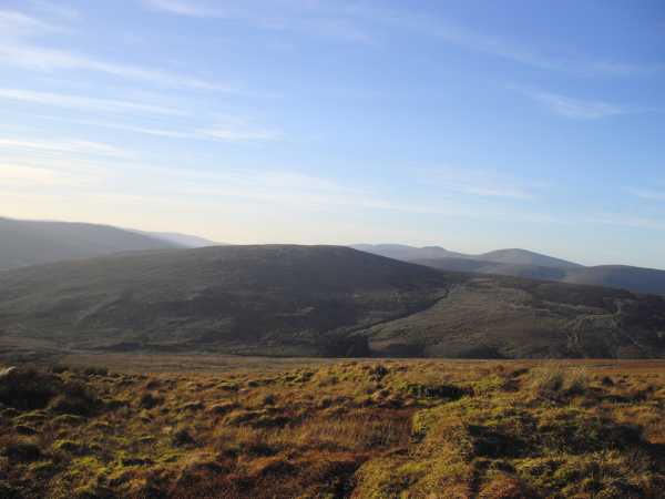 MountainViews.ie Picture about mountain Mullaghsallagh in area Sperrin Mountains, Ireland