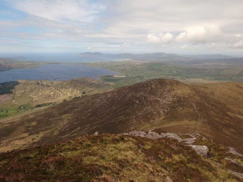 MountainViews.ie Picture about mountain Glanbeg in area Dunkerron Mountains, Ireland
