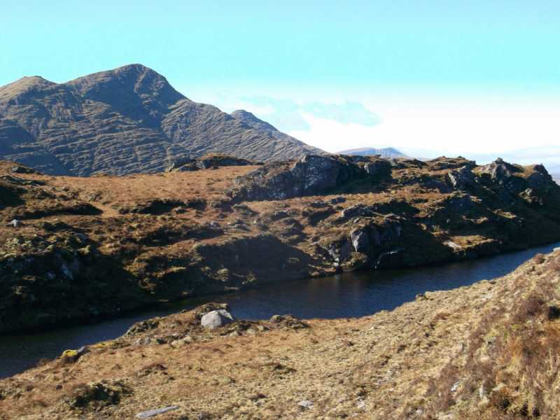 MountainViews.ie Picture about mountain Knockaunanattin W Top in area Dunkerron Mountains, Ireland