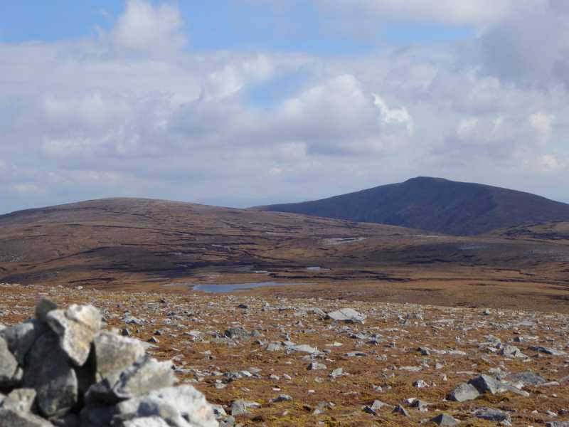 MountainViews.ie Picture about mountain Sliabh Tuaidh Far W Top in area Donegal SW, Ireland