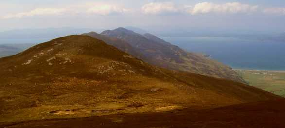 MountainViews.ie Picture about mountain Crockmain in area Inishowen, County Donegal, Ireland