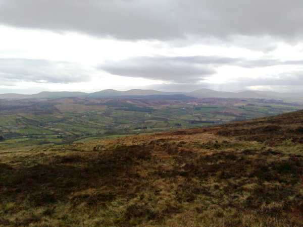 MountainViews.ie Picture about mountain Boviel Top in area Sperrin Mountains, Ireland