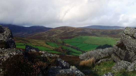 MountainViews.ie Picture about mountain Seefin in area Galty Mountains, Ireland