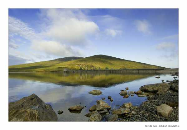 MountainViews.ie Picture about mountain Slievenamiskan in area Mourne Mountains, Ireland
