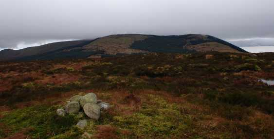MountainViews.ie Picture about mountain Slievemeel in area Mourne Mountains, Ireland