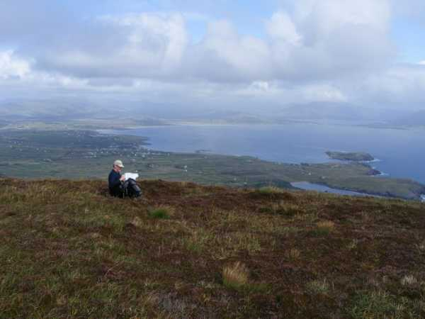 MountainViews.ie Picture about mountain Bolus in area Iveragh NW, Ireland
