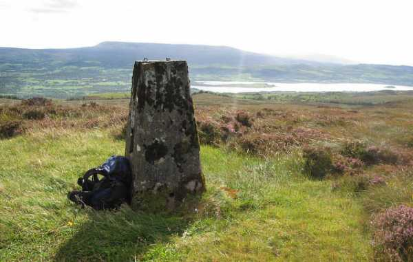 MountainViews.ie Picture about mountain Belmore Mountain in area Fermanagh/S Tyrone, Ireland