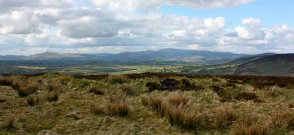 MountainViews.ie Picture about mountain Muskeagh Hill in area Dublin/Wicklow, Ireland