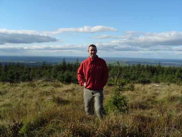 MountainViews.ie Picture about mountain Saggart Hill in area Dublin/Wicklow, Ireland