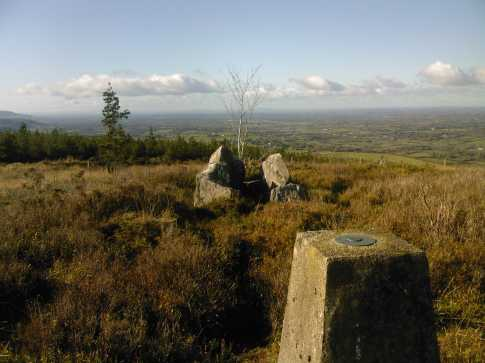 MountainViews.ie Picture about mountain Slievenamuck in area Galty Mountains, Ireland