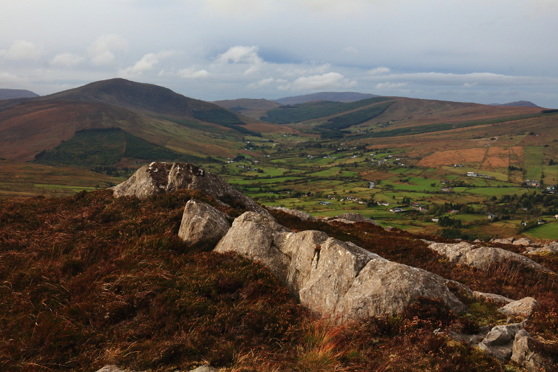 MountainViews.ie Picture about mountain Altnapaste in area Bluestack Mountains, Ireland