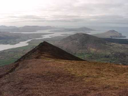 MountainViews.ie Picture about mountain Castlequin in area Iveragh NW, Ireland