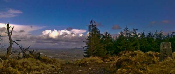 MountainViews.ie Picture about mountain Knockanimpaha in area W Limerick/N Kerry, Ireland