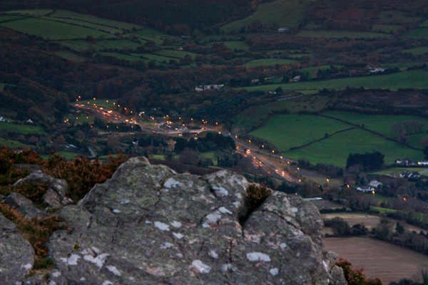 MountainViews.ie Picture about mountain Little Sugar Loaf in area Dublin/Wicklow, Ireland