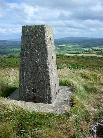 MountainViews.ie Picture about mountain Croaghan Hill in area S Donegal/W Tyrone, Ireland