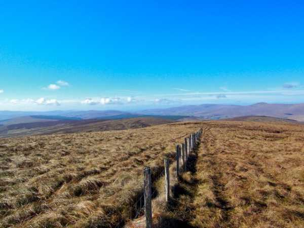 MountainViews.ie Picture about mountain Carnanelly West Top in area Sperrin Mountains, Ireland