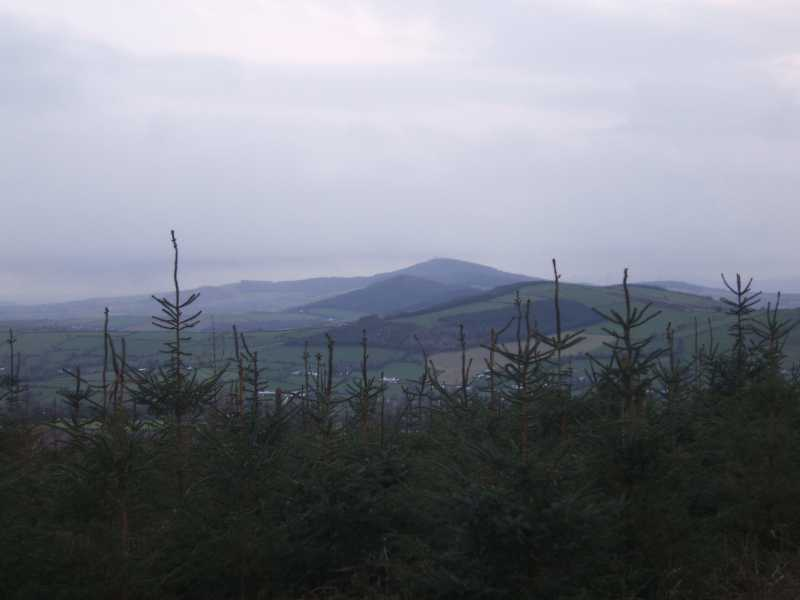 MountainViews.ie Picture about mountain Kilmichael Hill in area Dublin/Wicklow, Ireland