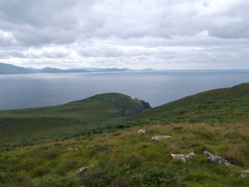 MountainViews.ie Picture about mountain Doonties Commons in area Central Dingle, Ireland