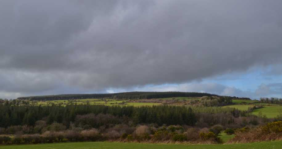 MountainViews.ie Picture about mountain Garrylaurence Hill in area Nagles Mountains, Ireland