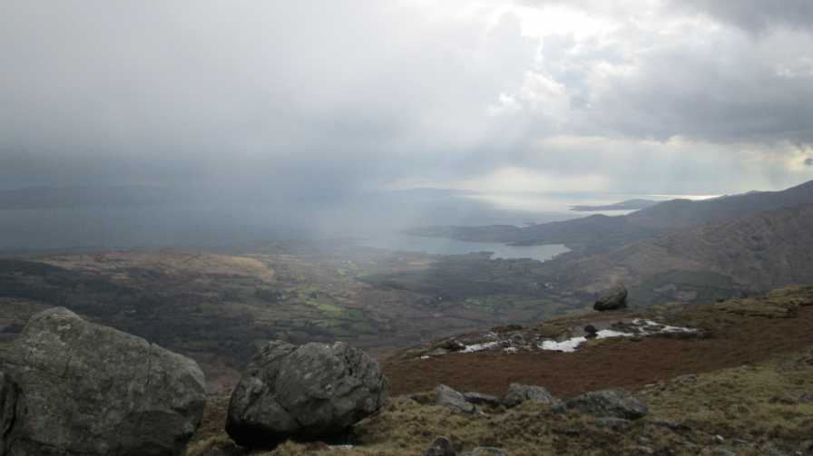 MountainViews.ie Picture about mountain Knockeirky South Top in area Caha Mountains, Ireland