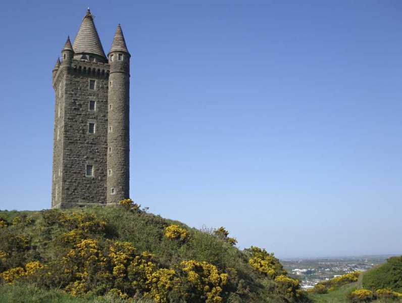 MountainViews.ie Picture about mountain Scrabo Hill in area Belfast Hills, Ireland