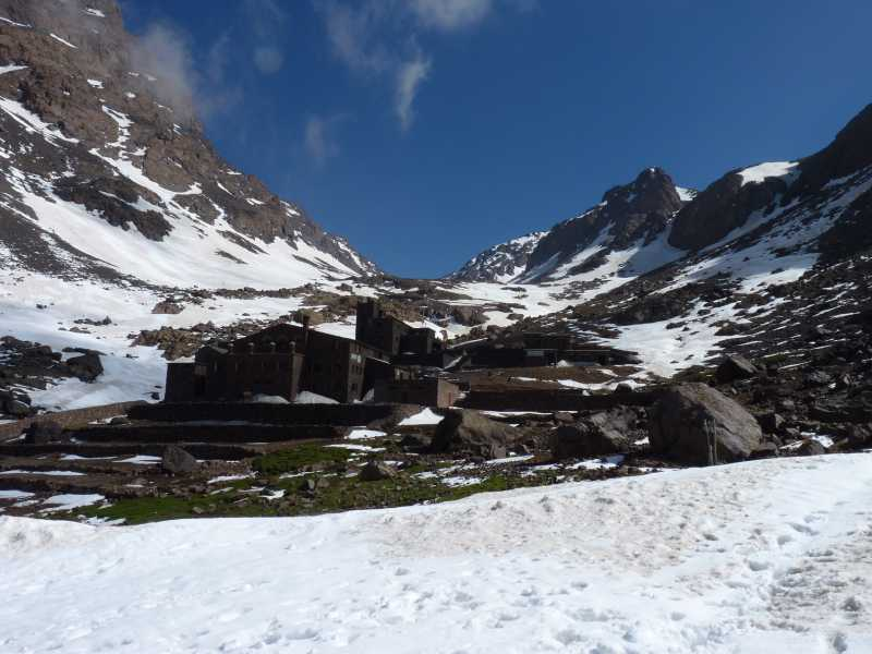 """Refuges below Jebel Toubkal.."" from kernowclimber Contract pics"