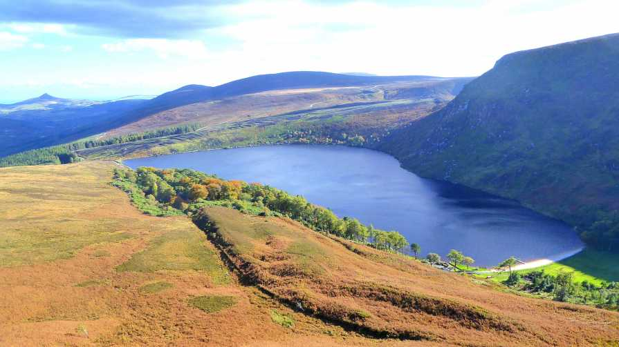 """Upper Lough Bray with Autumnal Colours"" from tomlug48 Contract pics"
